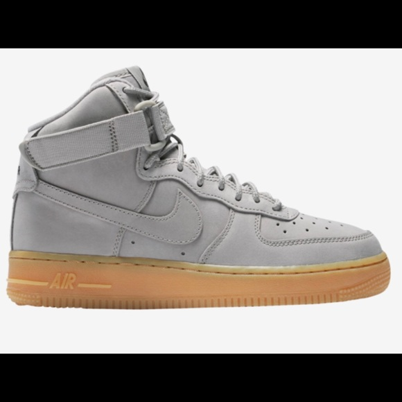 Nike Air Force 1 High Grey Suede